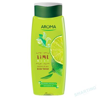 Gel de dus AROMA Lime Mist 400ml