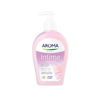 Crema AROMA pentru igiena intima Chamomile 250ml