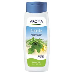 Sampon AROMA FRESH Nettle  (p/u par gras) 400ml