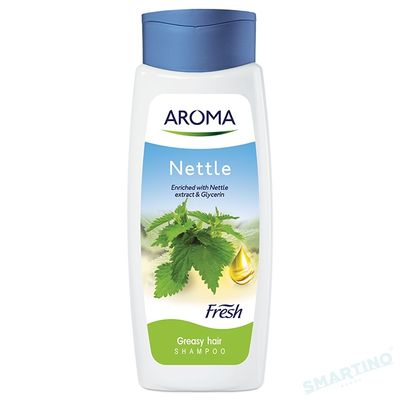 Sampon AROMA FRESH Nettle  (p/u par gras) 400ml