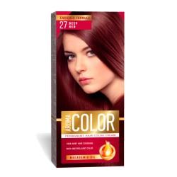 Vopsea pentru par AROMA Color 27 (garnet- rosu intens) 45 ml