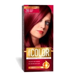 Vopsea pentru par AROMA Color 28 (rubiniu) 45 ml