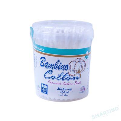 Гигиенические ватные палочки Make-up Bambino Cotton 100 шт.