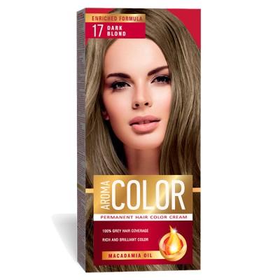 Vopsea pentru par AROMA Color 17 (blond inchis) 45 ml