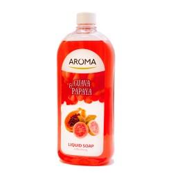 Sapun lichid AROMA Guava & Papaya 900 ml