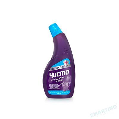 "Solutie-gel dezinfectant baie si WC ""ЧИСТО"" 700 ml"