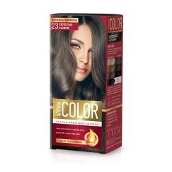 Vopsea pentru par AROMA Color 23 (Șaten cenușiu) 45 ml