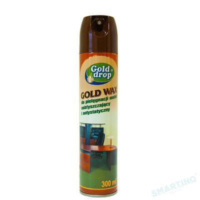 Soluție pentru lustruire și protecție mobilă Gold WAX 300 ml