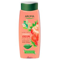 Gel de dus AROMA Strawberry Cream 400ml