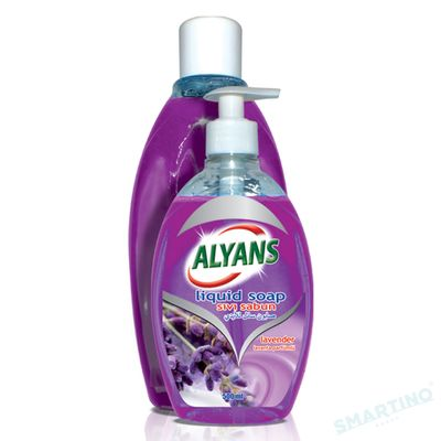 Săpun lichid ALYANS 500ml Lavanda + 1L Rezervă