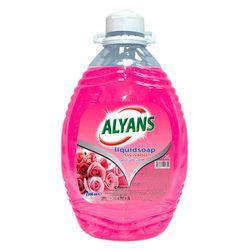 Săpun lichid ALYANS 2,5L  Rose Rezervă