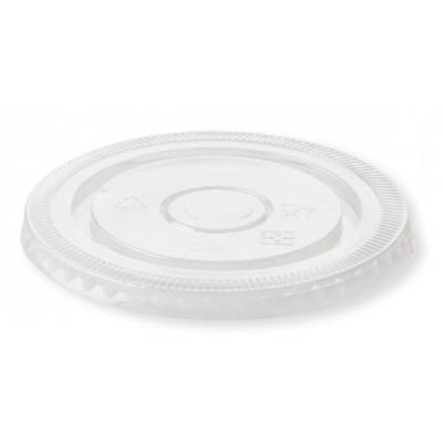 Capace Bio transparente Plate bauturi reci 95mm, 100% Biodegradabile, 50buc/set