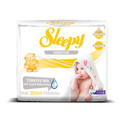 Set Servetele umede SLEEPY 50 Sensitive x3