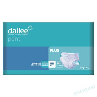Scutece Chilot Adult DAILEE PANT Plus 5.5 Pic.  XL 145-180 cm,  14 buc.