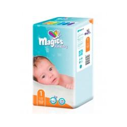 Подгузники Magics Flexidry Air Tubes 1 Newborn, 2-5кг, 50 штук