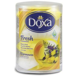 Sapun de toaleta DOXA Fresh Pahar 4x110gr. Warmness