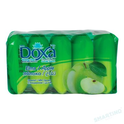 Sapun de toaleta DOXA Ekopack 5x60gr. Apple