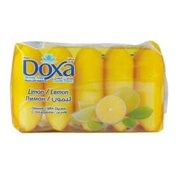 Мыло туалетное DOXA Ekopack  5x60гр. Lemon