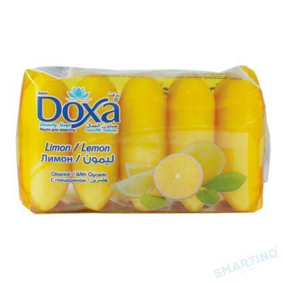 Sapun de toaleta DOXA Ekopack 5x60gr. Lemon