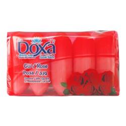 Мыло туалетное DOXA Ekopack  5x60гр. Rose
