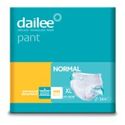 Scutece tip chilot DAILEE Adult Normal 4,5 Picaturi, XL 145-180 cm, 14 bucati