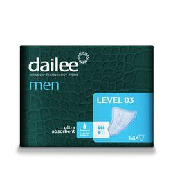Absorbante urologice DAILEE MEN Level 3, 4 Picaturi, 14 buc.