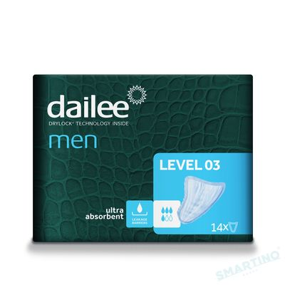 Absorbante urologice DAILEE MEN Level 3, 4 Picaturi, 14 buc.