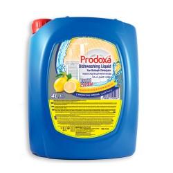 Detergent vase PRODOXA 4L. Lemon