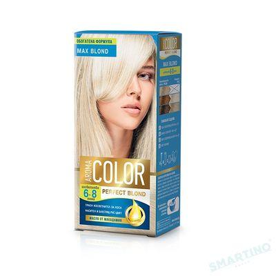 Vopsea pentru par AROMA Color Max Blond 45 ml