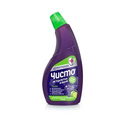 "Solutie dezinfectanta baie si WC ""ЧИСТО"" Lime 700 ml"