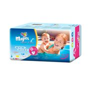 Scutece chilotel pentru apa Magics Air Tubes Marime M (3-4), 7-15kg, 11 bucati