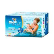 Scutece chilotel pentru apa Magics Air Tubes Marime S (2-3), 3-8kg, 12 bucati