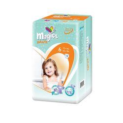 Scutece Chilotel Magics Air Tubes Marime 6 XLarge, 15+kg, 18 bucati