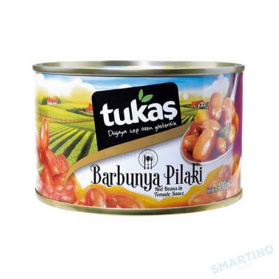 Fasole rosie boabe in sos de tomat TUKAS 400 gr.
