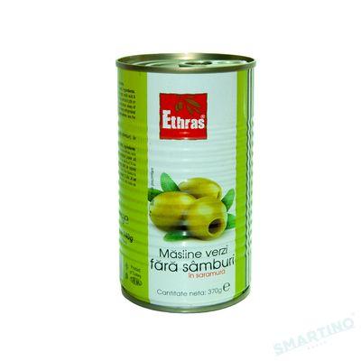 Măsline verzi fara simburi ETHRAS 370gr.