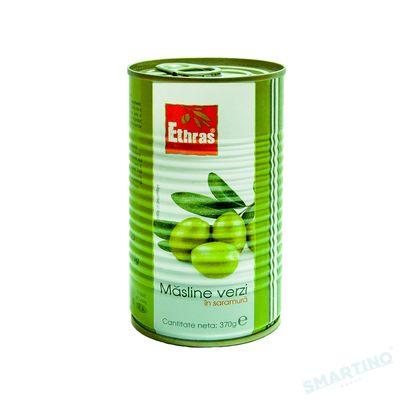 Măsline verzi intregi ETHRAS 370gr.