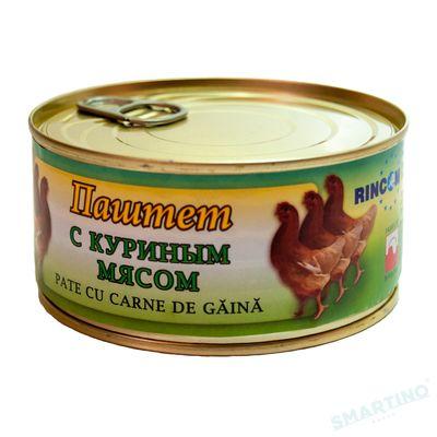 Pateu  Rincom/MISPOL cu carne de gaina 290 gr cu Cheie
