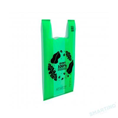 Pungi biodegradabile verzi Biodeck Medie 2-3kg 50buc/set