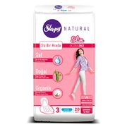 Absorbante Sleepy Natural Night Slim 7 pic 20 buc