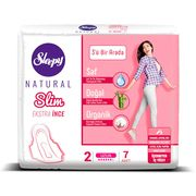 Absorbante Sleepy Natural Long Slim 6 pic 7 buc