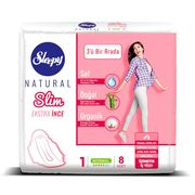 Absorbante Sleepy Natural Normal Slim 5 pic 8 buc