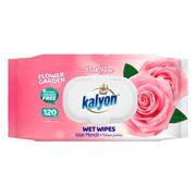 Servetele umede KALYON 120 Rose cu capac