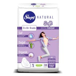 Absorbante Sleepy Natural Normal Soft 5 pic 30 buc