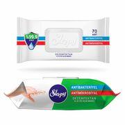Servetele umede SLEEPY 70 buc Antibacterial Capac Plastic