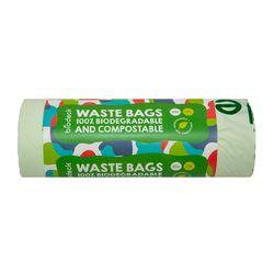 Saci menajeri Biodeck, 20L, 100% Biodegradabili si Compostabili, 20 buc/rola