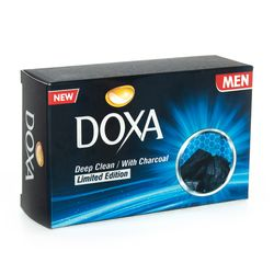 Sapun de toaleta DOXA Box 90gr. Deep Clean Charcoal