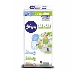 Scutece Chilotel Sleepy Natural Ultra Sensitive DOUBLE 6 Xlarge, 15-25kg, 40 bucati