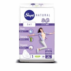 Absorbante Sleepy Natural Normal Soft 5 pic 26 buc