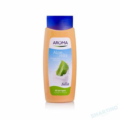 Balsam pentru par AROMA FRESH Aloe Milk 400ml