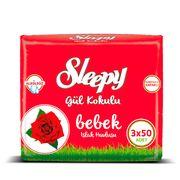 Set Servetele umede SLEEPY 50 Rose x3